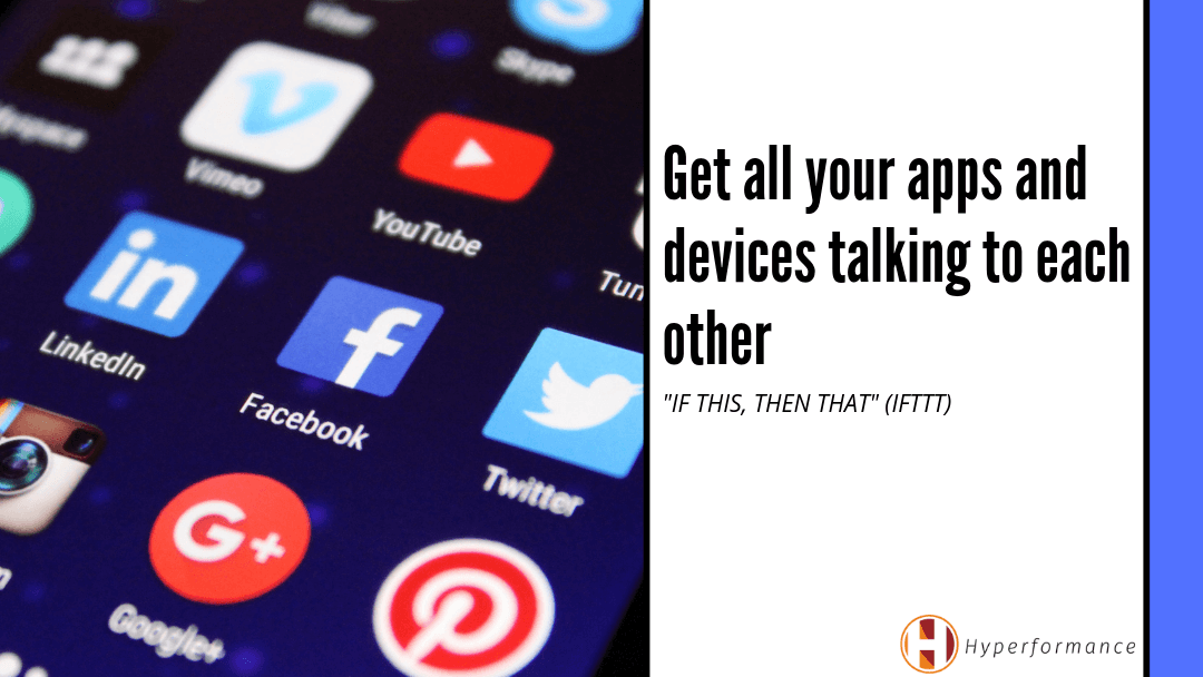 Get all your apps and devices talking to each other