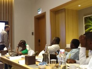 Hyperformance Innovation and Design Thinking Dubai 2019 participants